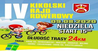 IV Kikolski Rajd Rowerowy